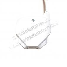Пластик щиток передний (номерной) белый #2