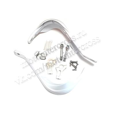 Защита рук (пара) HP03 армированные белые SM-PARTS