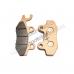 Колодки тормозные дисковые #7 TTR250Rb (перед.) X-TECH