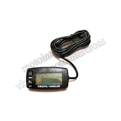 Счетчик моточасов/тахометр (подсветка, смен. батарея) SM-PARTS  SMP-032R черный