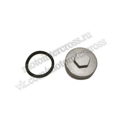Крышка клапана (круглая) питбайк 125см3