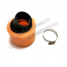 Фильтр возд. нулевик #2 (d=42mm) поролон