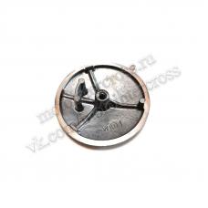 Крышка головки цилиндра левая круглая d-82 мм двиг.120-140 см3 SM-PARTS