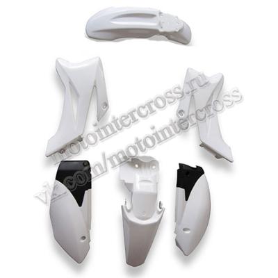 Пластик (полный копл.) #2 125сс (TTR тип) белый
