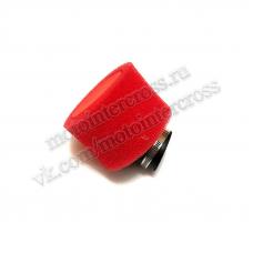 Фильтр возд. нулевик #2 (d=38mm) поролон красный