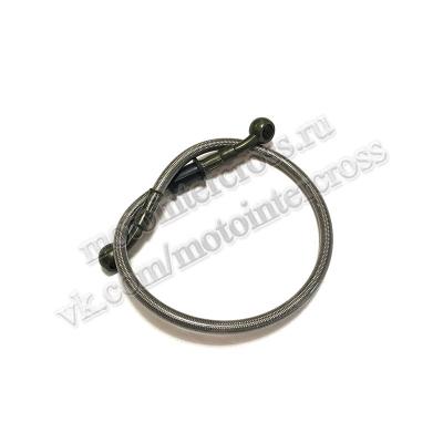 Шланг гидравлический тормозной (армированный) L= 500 d=10мм серый