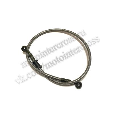 Шланг гидравлический тормозной (армированный) L= 700 d=10мм серый