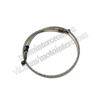 Шланг гидравлический тормозной (армированный) L=1000 d=10мм серый
