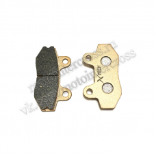 Колодки тормозные дисковые  #1 TTR250a,TTR250Sa (перед) X-TECH