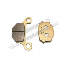 Колодки тормозные дисковые #18 TTR250Rb (зад.) X-TECH