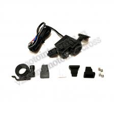 USB зарядка мото (на руль)