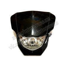 Фара + Обтекатель B-018 кросс черная