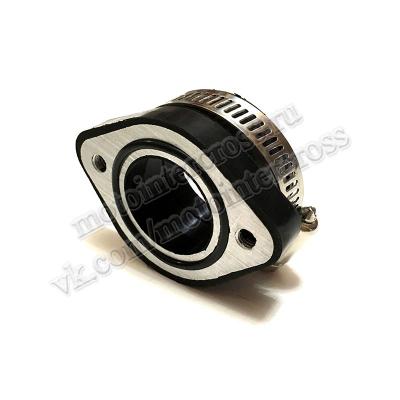 Патрубок карбюратора #1 28мм резиновый для VM24/OKO/NIBBI RWK24 YJ
