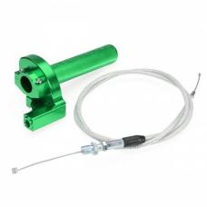 Ручка газа короткоходная CNC с тросом