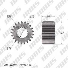 Шестерня привода масляного фильтра 166FMM (CB250) 21T (19) h=26мм