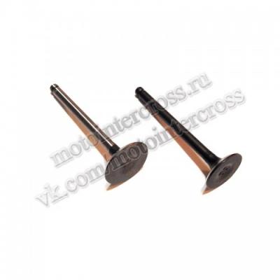 Клапаны (компл. 2шт) 4T двиг. YX150-160 стандартные d=23/28 SM-PARTS