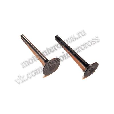 Клапаны (компл. 2шт) 4T двиг. TTR125, YX125 стандартные d=20/23 SM-PARTS