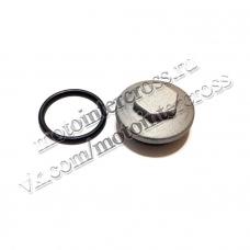 Крышка клапана / масляного фильтра круглая двиг. CG/CB 150-250 см3 SM-PARTS