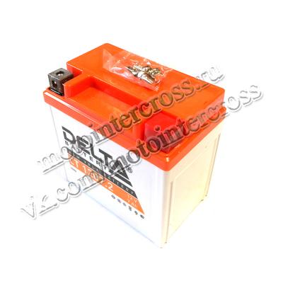 Аккумуляторная батарея 12V7Ah (114x70x108) (залитая, необслуж./увел.емкости) DELTA TTR125