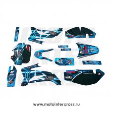 Наклейки на пластик (комплект) TTR цветные